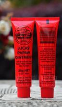 Австралия 100% оригинал Lucas papaw мазь трещины Средства ухода за губами гравия сыпь подгузник сыпь лапа лапой Красота и Здоровье и гигиена 25 г