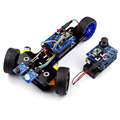 Nueva DIY Wireless Telecontrol Kit para Arduino Smart Car Robot de Tres ruedas 2.4G Freeshipping auriculares diy diykit