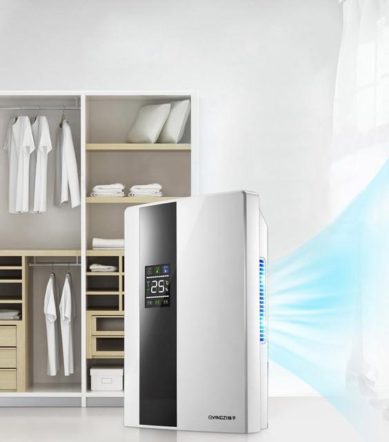 Lovely Dehumidifier Home Dehumidifier Mute Bedroom Basement Mini Moisture  Absorption Dryer Big Screen LCD External Water Pipes