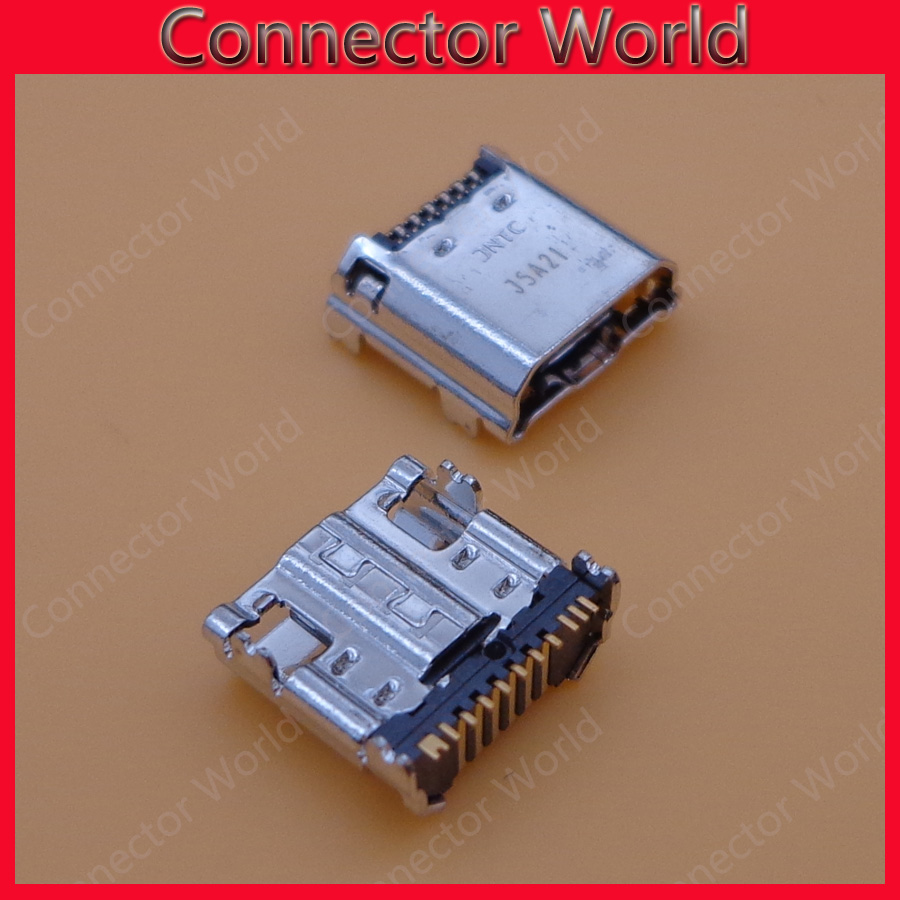 micro usb jack socket connector charging port 11 pin for samsung Tab 3 7 0 I9200