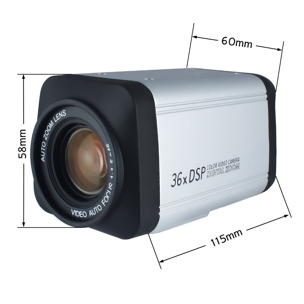 Image 4 - Wireless Remote controller 36X Optical Zoom HD AHD 1080P Auto Focus CCTV Box Camera For AHD DVR-in Surveillance Cameras from Security & Protection