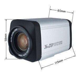 Image 4 - Wireless Remote controller 36X Optical Zoom HD AHD 1080P Auto Focus CCTV Box Camera For AHD DVR