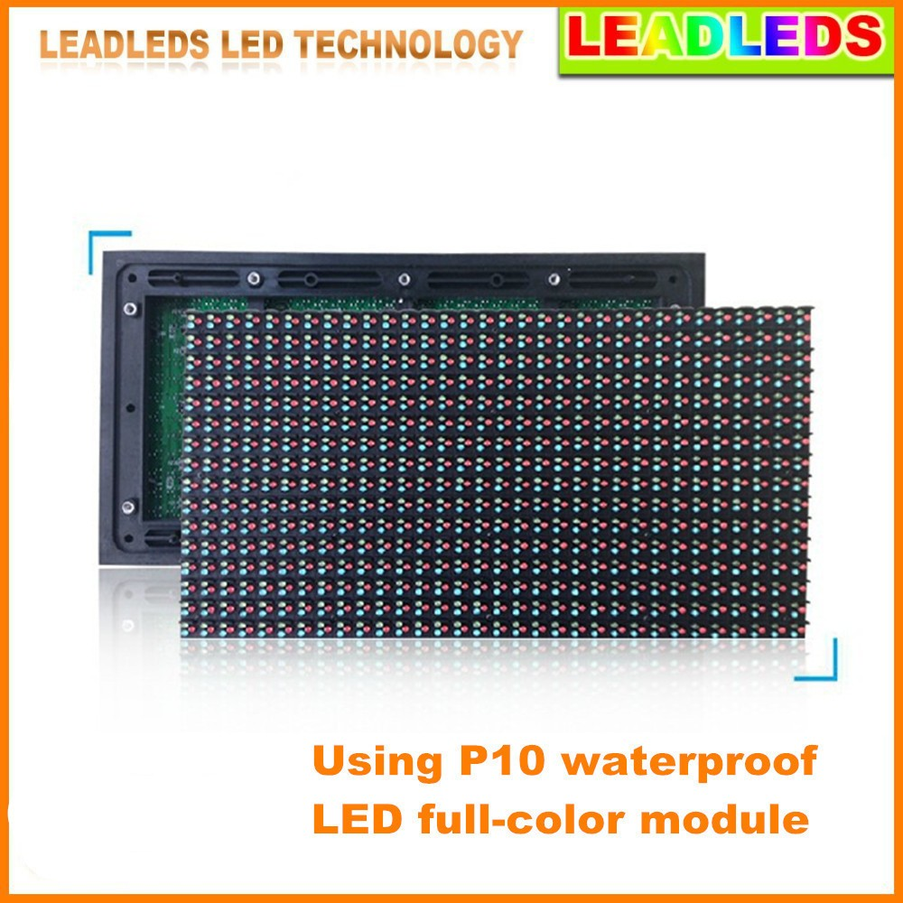 P10mm-Outdoor-Led-display-with-RGB-color-high-brightness-Scrolling-Waterproof-Message-Board-and-size-104cm (3)