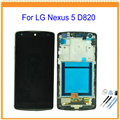 New For LG Nexus 5 D820 D821 LCD Screen With Touch Screen Display Digitizer with Frame or Not Assembly + Tools Free Shipping