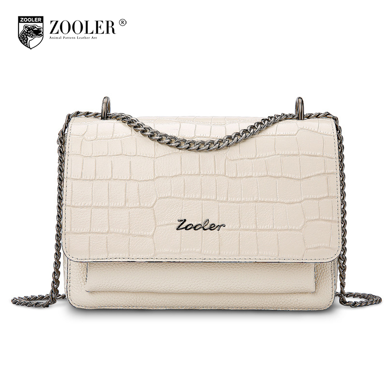 ZOOLER Brand 2017 Winter Female Shoulder Bags Handbags Women Famous Brands Small Bag Crossbody Bag Fashion Chain Messenger Bags women shoulder bags leather handbags shell crossbody bag brand design small single messenger bolsa tote sweet fashion style