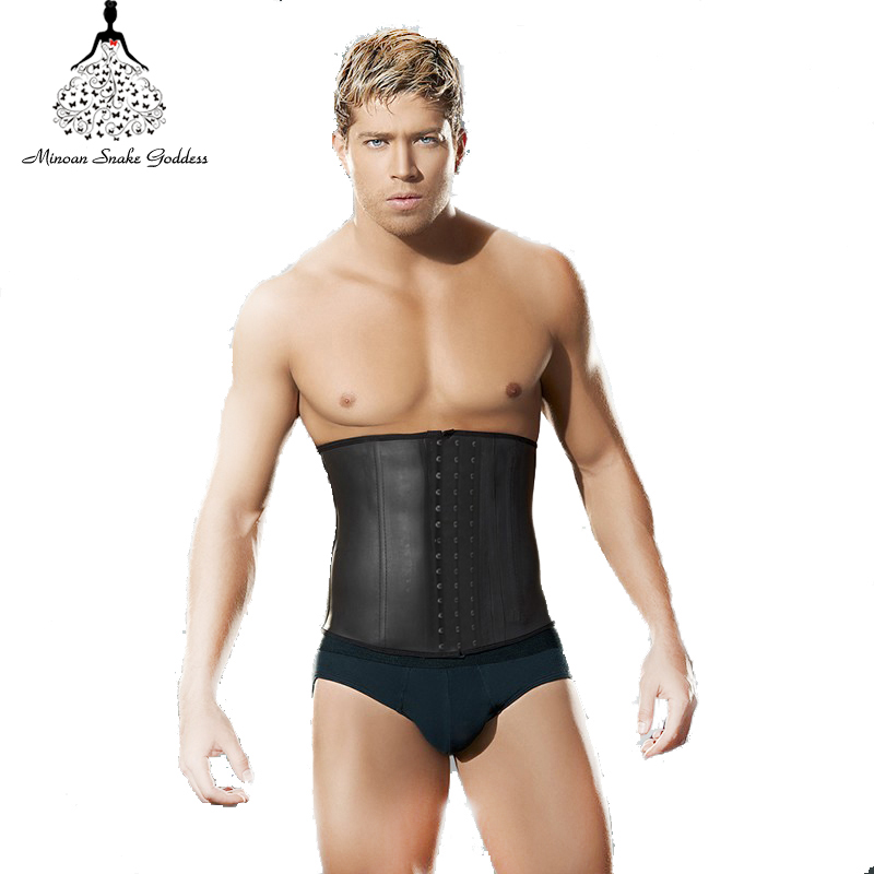 39c72bf3fbb15 Aliexpress.com   Buy waist trainrt corsets for men hot body shapers waist  trainer latex waist cincher body hot shapers bodysuit latex waist trainer  from ...