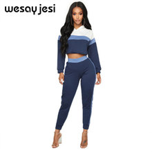 Crop top women sport suit sexy two piece set woman elegant summer clothes for women female clothing cheap ladies tracksuits