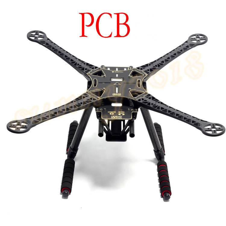 dji f450 upgraded version s500 pcb board fpv quadcopter frame kit with 260mm 170mm carbon