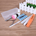 12Pcs/ Set Nail Tools Cuticle Pusher Manicure Pedicure Nail Art Base Nail Polish