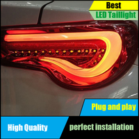 Car Styling Tail Lamp For Toyota 86 GT86 FT86 2012 2017 Taillights Dynamic Turn Siganl Taillight