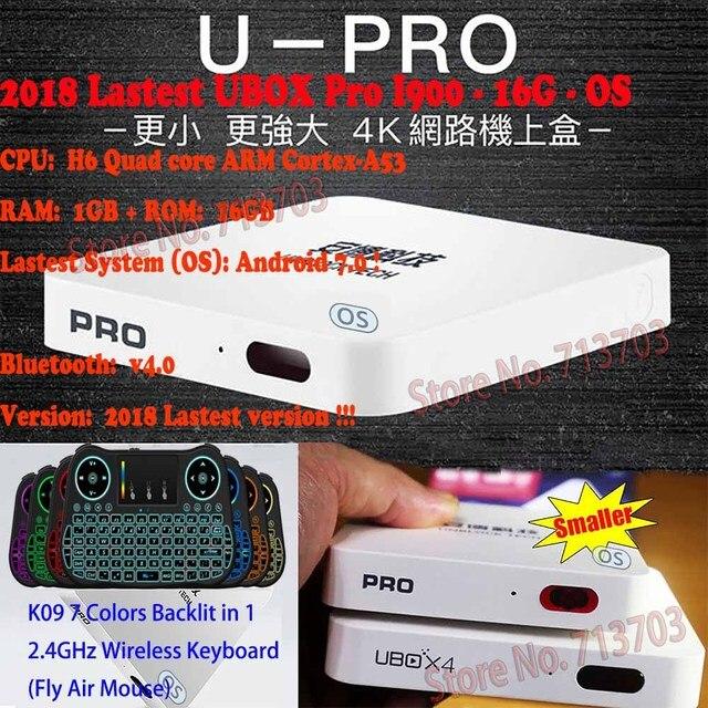 2018 Mới Nhất BỎ CẤM UBOX PRO I900 16 gam HỆ ĐIỀU HÀNH UBOX5 Bluetooth UBOX 5 Android Miễn Phí IPTV 1000 Kênh TRUYỀN HÌNH Trực Tiếp 4 k 1080 p HD New Zealand