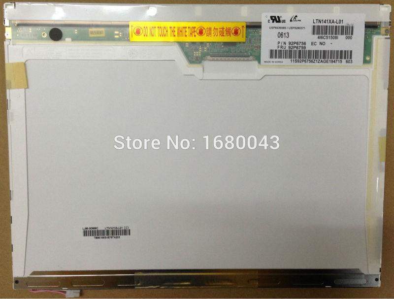 LTN141XA-L01 fit LTN141XB-L02 LTN141XB-L04 B141XG09 V.3 HT14X19-110 B141XG08 30 PIN 14.1 LCD Display Laptop Screen 13 3 laptop lcd screen panel b133ew01 v 0 v 1 v 2 v 3 fit ltn133at07 ltn133w1 l01 lp133wx1 tlc1 tln3 20 pin