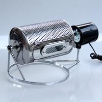 Главная Мини Кофе жаровня руководство Нержавеющаясталь Кофейные зерна выпечки машина арахиса семена дыни гайка выпечки программным сред