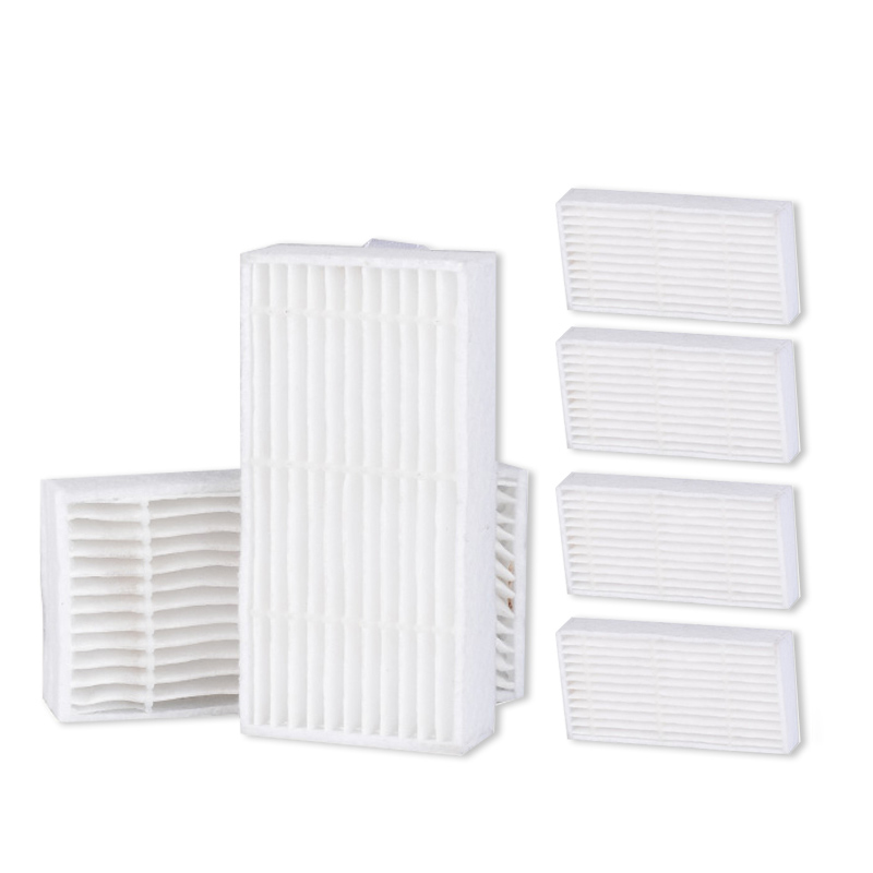 6 pcs x HEPA Filter for ILIFE Robot Vacuum Cleaner for ILIFE V3S V5 V5PRO V5S CW310 Replacement HEPA Robot Vacuum Cleaner Parts 2pcs vacuum cleaner parts replacement filter screen for philips robot fc8820 fc8810 hepa filter free shipping