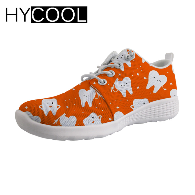 HYCOOL Mignon Dentiste Impression En Amont Chaussures Femmes baskets de sport respirantes D'eau À Séchage Rapide chaussures de plage pour la Baignade D'été Nouveau