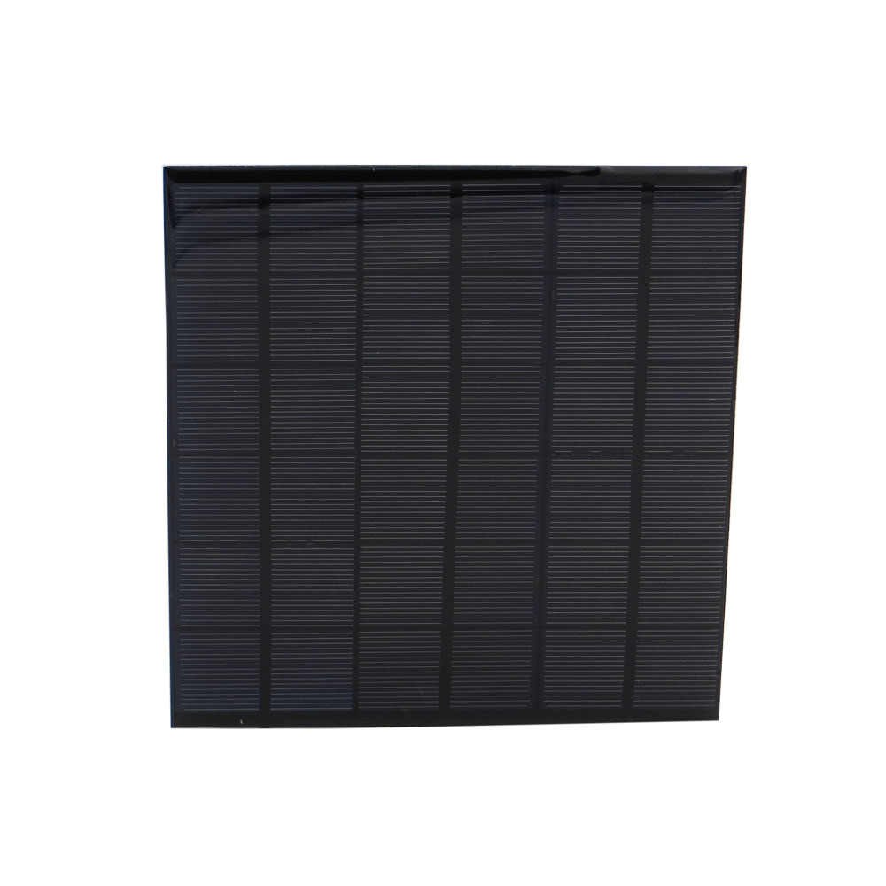 Mini 9V 4.2W 4.5W 462mA Solar Panel Monocrystalline Solar Cells Supply Power Panel Module DIY Battery for Cell Phone Toy Charger