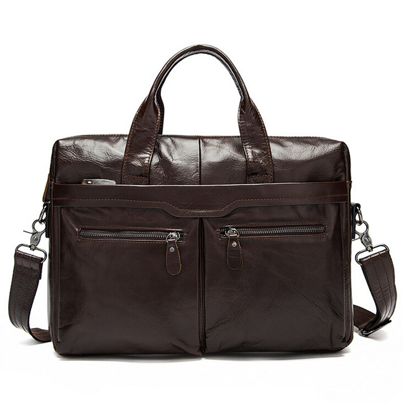 цены на Men Casual Briefcase Business Shoulder Bag Leather Messenger Bags Computer Laptop Handbag Bag Men's Messenger Bags в интернет-магазинах