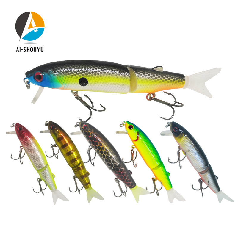 AI-SHOUYU High Quality Wobbler Magallon 90+20mm 14.5g Hard Minnow Bait Artificial Bait Swim Bait With Spare Tail Fishing Lures