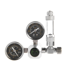 Aquarium CO2 Regulator with Check Valve Bubble Counter Magnetic Solenoid Valve Aquarium Carbon Dioxide Pressure-reducing Valve