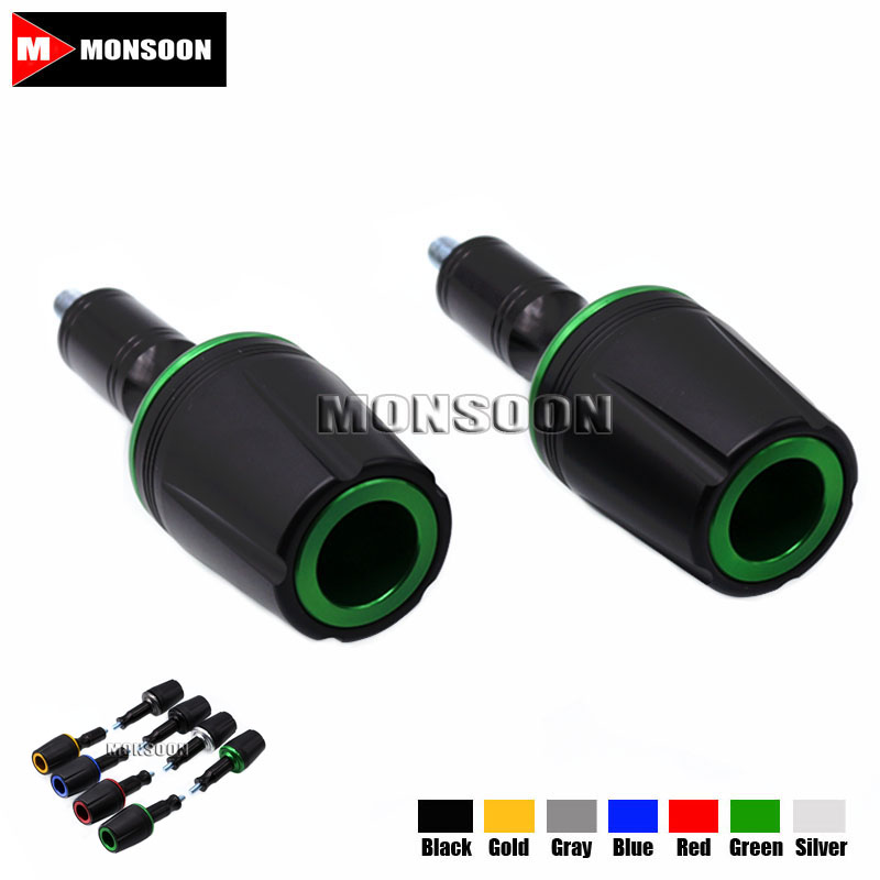 For KAWASAKI Z900 Z 900 2017 Motorcycle Accessories Body Frame Sliders Crash Protector Falling Protection Green