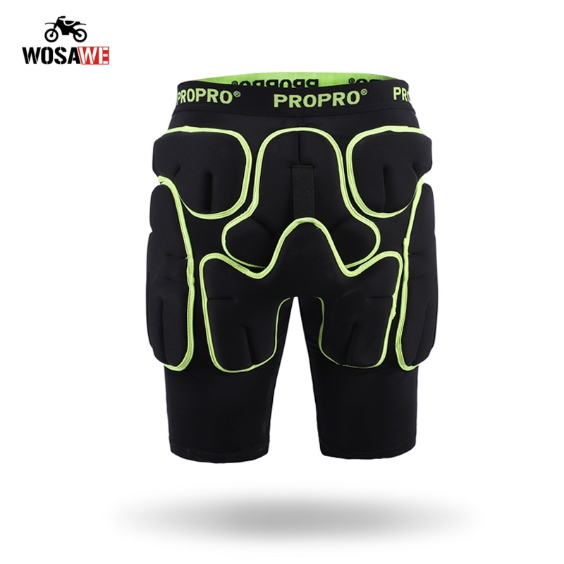 PROPRO Motorcycle Protective Hip Shorts Motocross Hip Protector Brace Rubber Ski Skating Skateboard Roller Outdoor Sports Gear