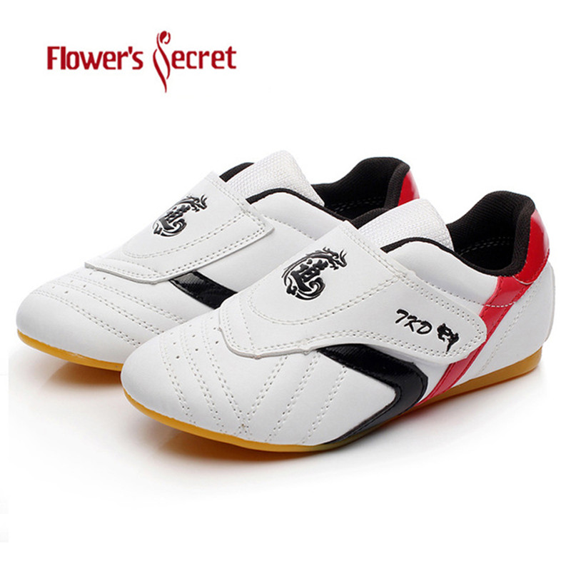 Taekwondo Shoes Kids Adult Breathable Soft Oxford Shoes Professional Tae kwon do Karate Kung Fu Martial Arts Sneakers