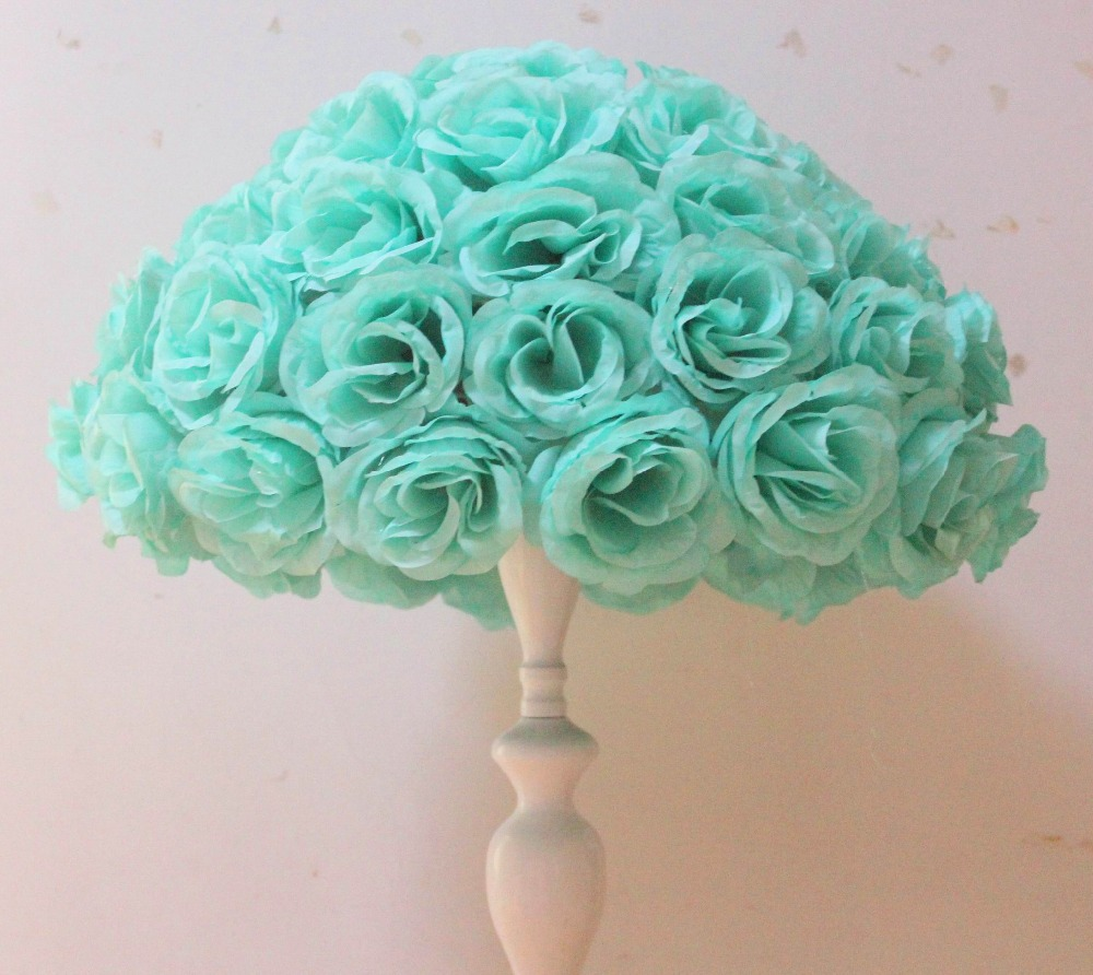 Aliexpress Buy Spr 45cm4 Pcs Rose Kissing Ball Artificial