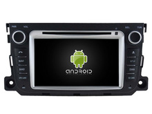 Android 7.1.1 2GB ram HD car DVD player for MERCEDES-BENZ Smart 2010-2014 gps navigation radio audio stereo headunit multimedia