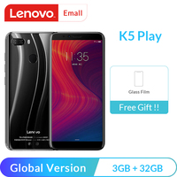 Global Version Lenovo K5 Play 3GB 32GB Snapdragon 430 Octa Core Smartphone 1.4G 5.7″ 18:9 Fingerprint Android 8 13.0MP Camera Lenovo Phones