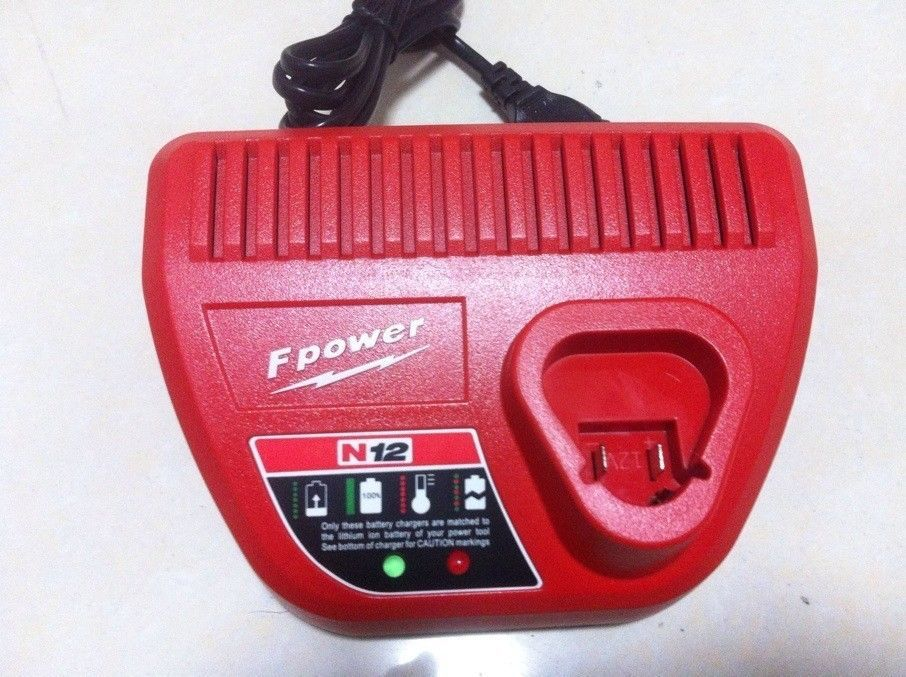 OEM Milwaukee 12V Li-ion Charger Milwaukee M12 12 Volt 48-59-2401 48-11-2402 220V~240V BEW