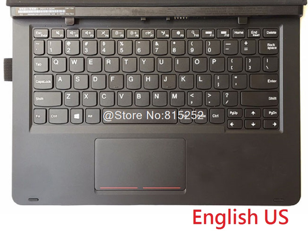 Laptop Keyboard Cover For Lenovo For ThinkPad Helix Gen 2 Folio 20CG 20CH Spain SP English US Belgium BE Danish DN  France FR new english laptop keyboard for lenovo thinkpad edge e530 e530c e535 us keyboard 04y0301 0c01700 v132020as3