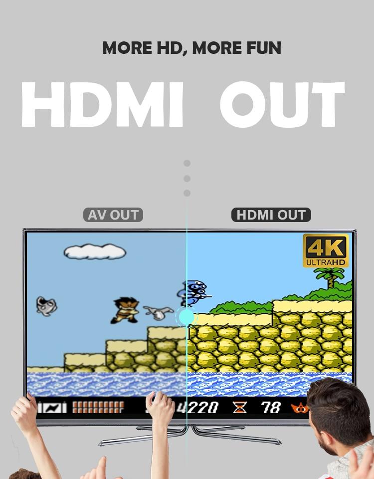 clássico 8 bits jogo mini console dupla gamepad saída av