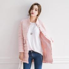 2016 new fashion down cotton jacket female slim long cotton-padded jackets single breasted coat beautiful outwears winter jacket