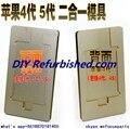 ЖК удалить клей УФ клей плесень поляризованных ЖК-экран расположен алюминиевые пресс-формы для iphone 4/4s/5/5c/5S
