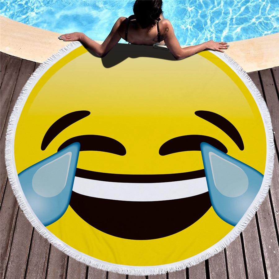 HTB1ITbDepHM8KJjSZJiq6zx3FXaA - Emoji Beach Microfiber Towel - MillennialShoppe.com | for Millennials