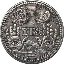 Хобо никель сша Морган доллар Монета КОПИЯ Тип 137