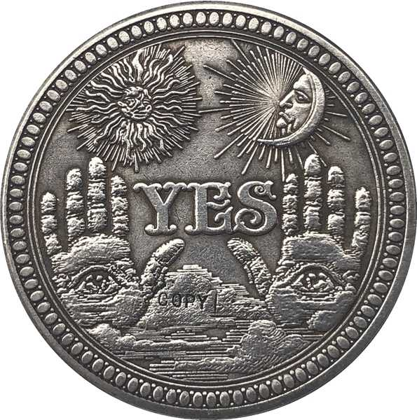 Hobo Nikkel Vs Morgan Dollar Munt Copy Type 137