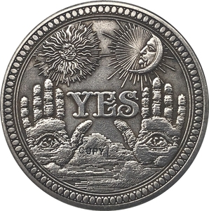 Hobo Nickel США Morgan Dollar Монета КОПИЯ типа 137