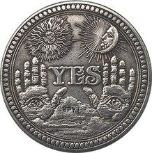 Hobo níquel dólar Morgan de EUA copia de moneda tipo 137