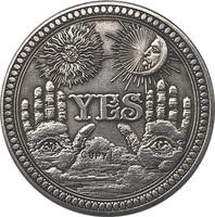 Hobo níquel eua morgan dólar moeda tipo de cópia 137|Moedas sem valor monetário| |  -