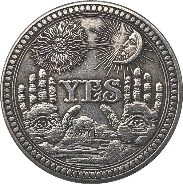 Pièce de monnaie Hobo Nickel USA Morgan Type 137