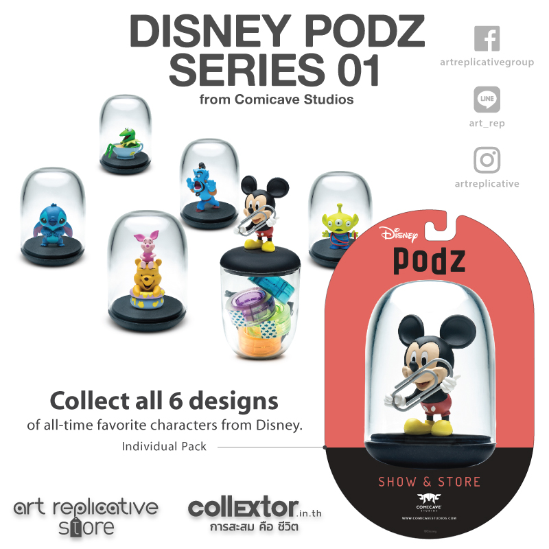 PODZ Toy doll Desktop hosting food safe fun storage box in two different ways Cartoon characters Transparent airtight funny fishing game family child interactive fun desktop toy