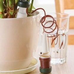 2 قطعة الإبداعية البستنة زهرة وعاء مصنع بوعاء التلقائي سقي أدوات سقي بالتنقيط جهاز البستنة المياه يمكن