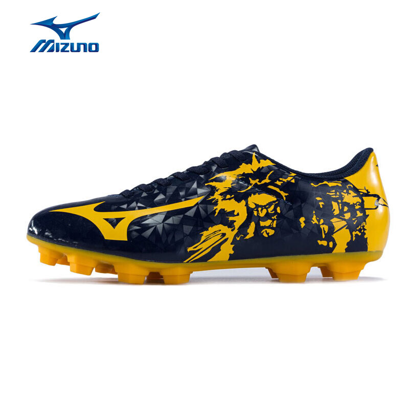 MIZUNO Soccer Shoes Men RYUOU MD Comfort Sports Shoes Breathable Sneakers P1GA179045 YXZ067 2008 donruss sports legends 114 hope solo women s soccer cards rookie card