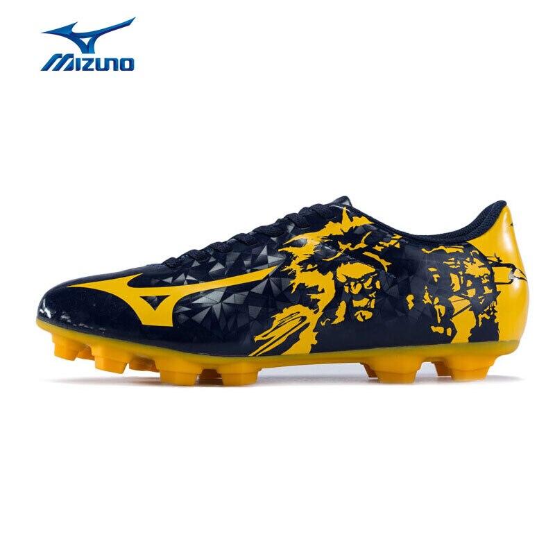 MIZUNO Soccer Shoes Men RYUOU MD Comfort Sports Shoes Breathable Sneakers P1GA179045 YXZ067 mizuno men rebula v3 ag professional cushion soccer shoes sports shoes comfort wide sneakers p1ga178603 yxz069