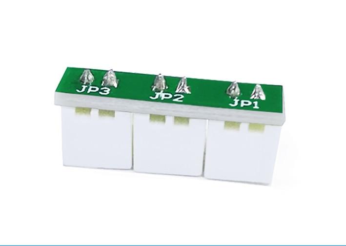 10pcs XH2.54-2P 1 To 2 Fan Interface Development Board