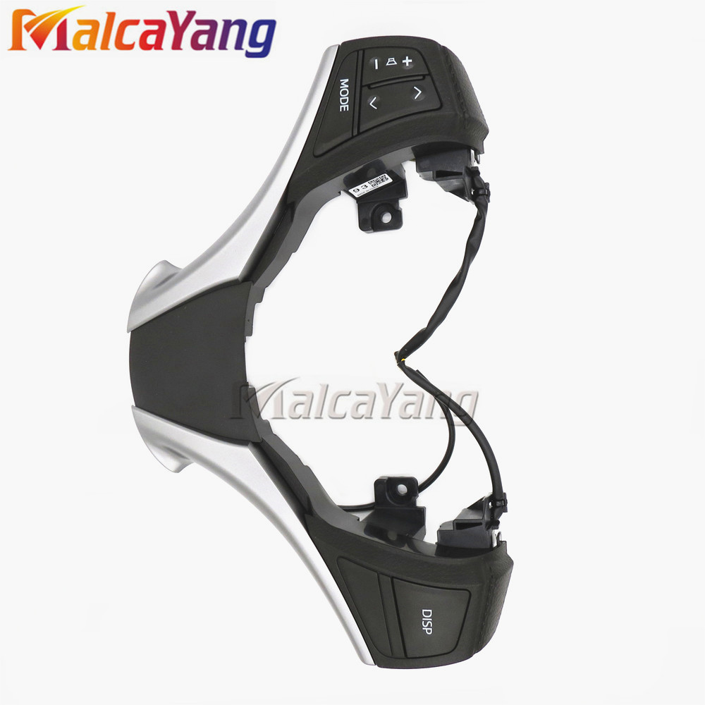 84250-0D120-E0 Steering Audio Control Switch For Toyota Yaris 13-15 Corolla RAV4 84250-0D120 842500D120 steering wheel switch audio bluetooth control 84250 02560 8425002560 for toyota rav4 corolla 2014 2015