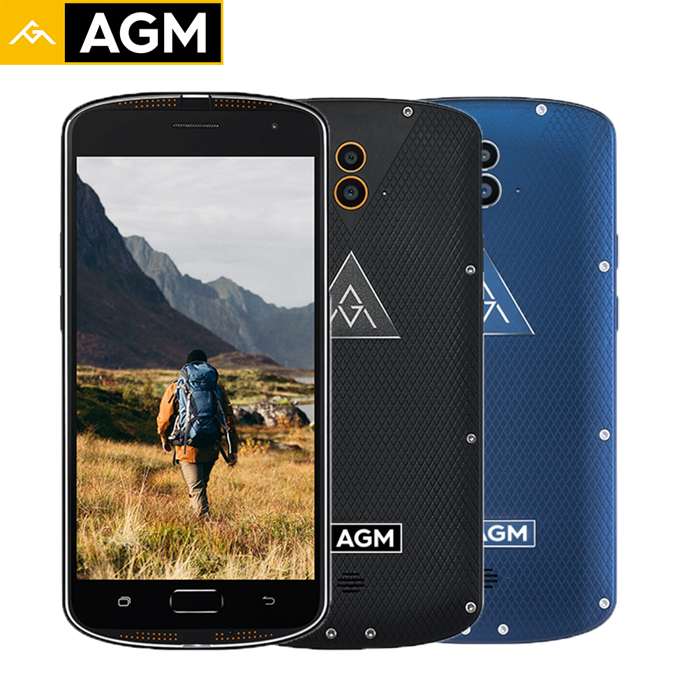 Original AGM X1 Smartphone QUALCOMM MSM8952 Octa Core 64G 4G IP68 Waterproof 5 5 Inch OTG