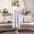 Princesa de la vendimia de Las Mujeres Ropa de Dormir Camisón Vestido de Verano Retro desgaste de La Noche Hermosa ropa de cama Envío Libre