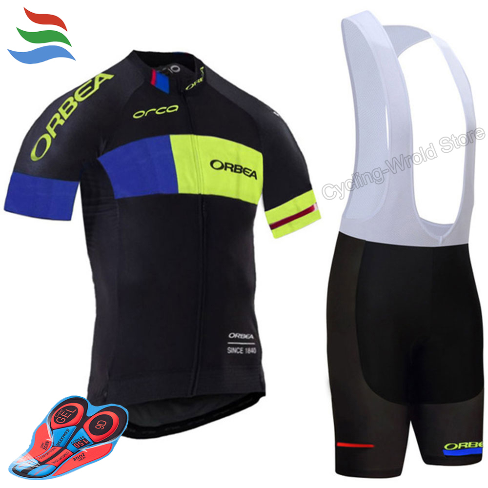 2017 Orbea Cycling clothing short summer men's set ropa ciclismo hombre  bike cycling jersey sport mtb maillot ciclismo #580 tinkoff saxo bank cycling jersey ropa clismo hombre abbigliamento ciclismo men s cycling clothing mtb bike maillot ciclismo d001